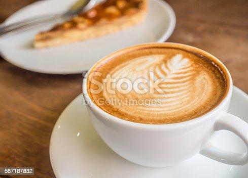 885959540 istock photo coffee and pie-1 587187832