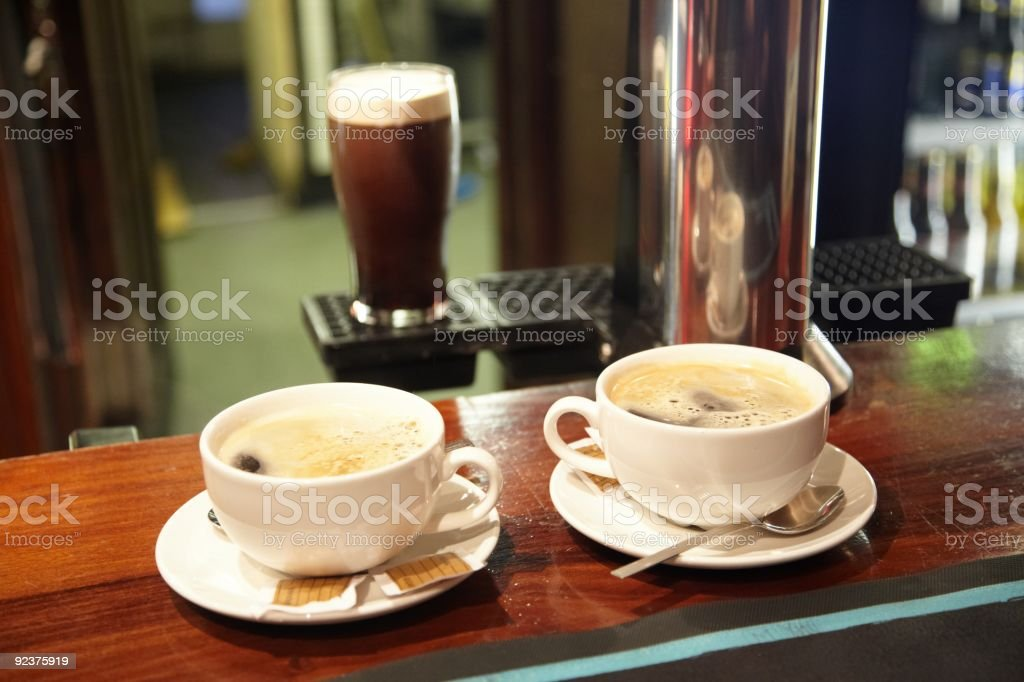 Coffee and Stout royalty-free stock photo
