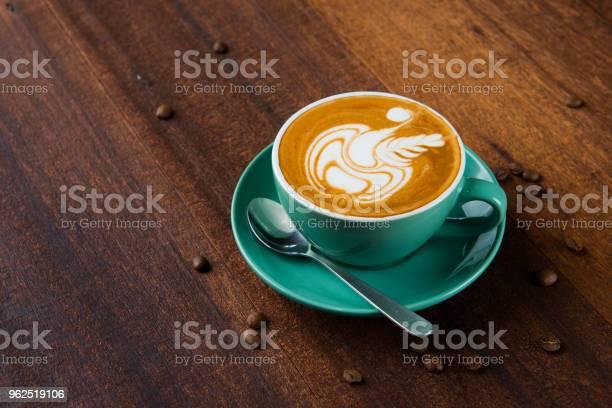 Foto de Arte De Café Com Leite e mais fotos de stock de Arte
