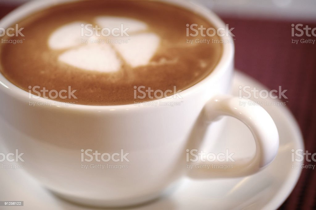 Coffee Art royalty-free stock photo