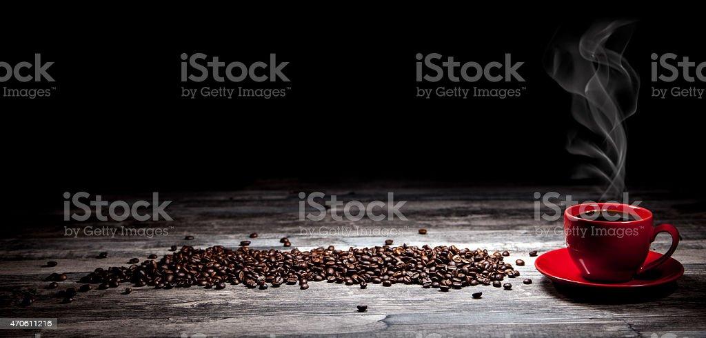 Kaffee-Hintergrund – Foto
