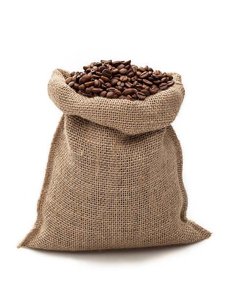 coffee bag - zak tas stockfoto's en -beelden