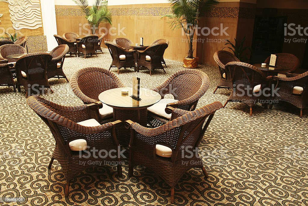 coffee bar in hotel royalty-free stock photo