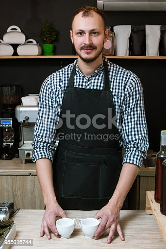 istock coffee bar shop service barista business owner 955615744
