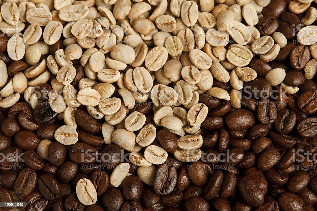 Coffee bean background. royalty-free stock photo