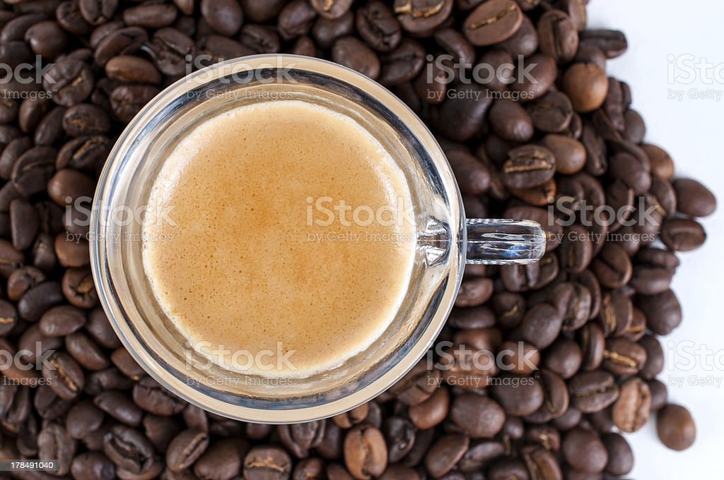 Coffee Bean Background royalty-free stock photo