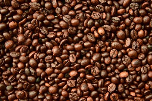 Kaffee Bohne Hintergrund Stockfoto und mehr Bilder von Bildhintergrund