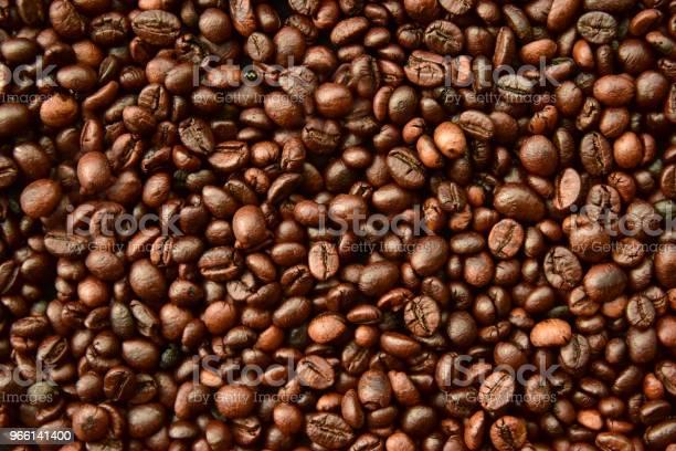 Kaffe Bean Bakgrund-foton och fler bilder på Bildbakgrund