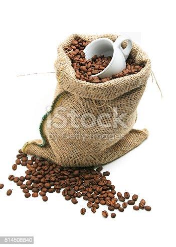 istock Coffee Bean Bag 514508840