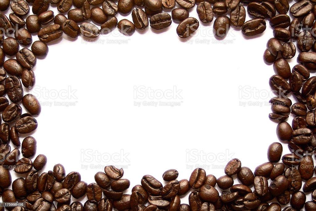 Coffee Bean Border Stock Photo - Download Image Now - iStock