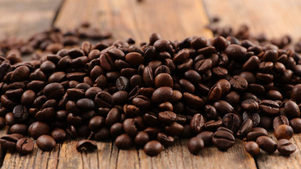 coffee bean - coffee beans stock photos and pictures