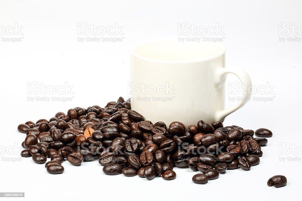 Coffee bean roasted royalty-free stock photo