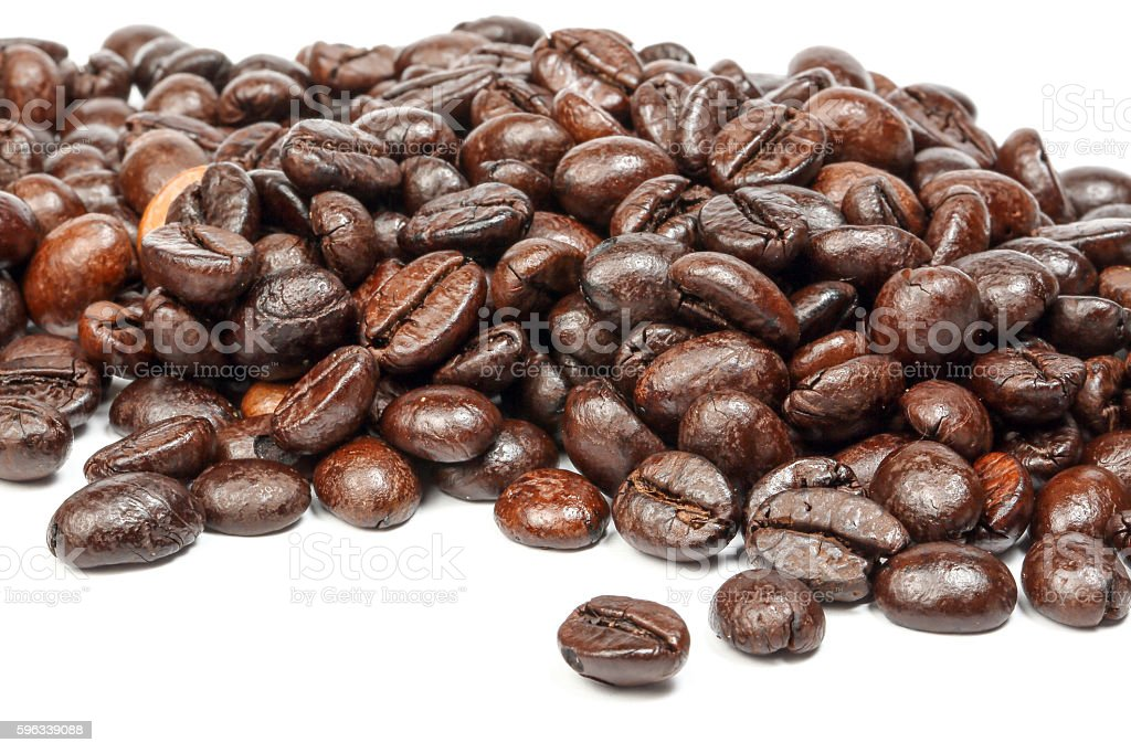 Coffee bean roasted royalty-free stock photo