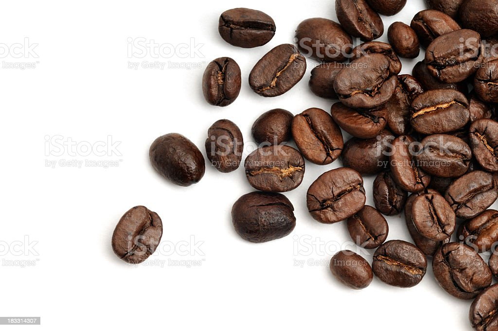Coffee Bean Scattered stock photo