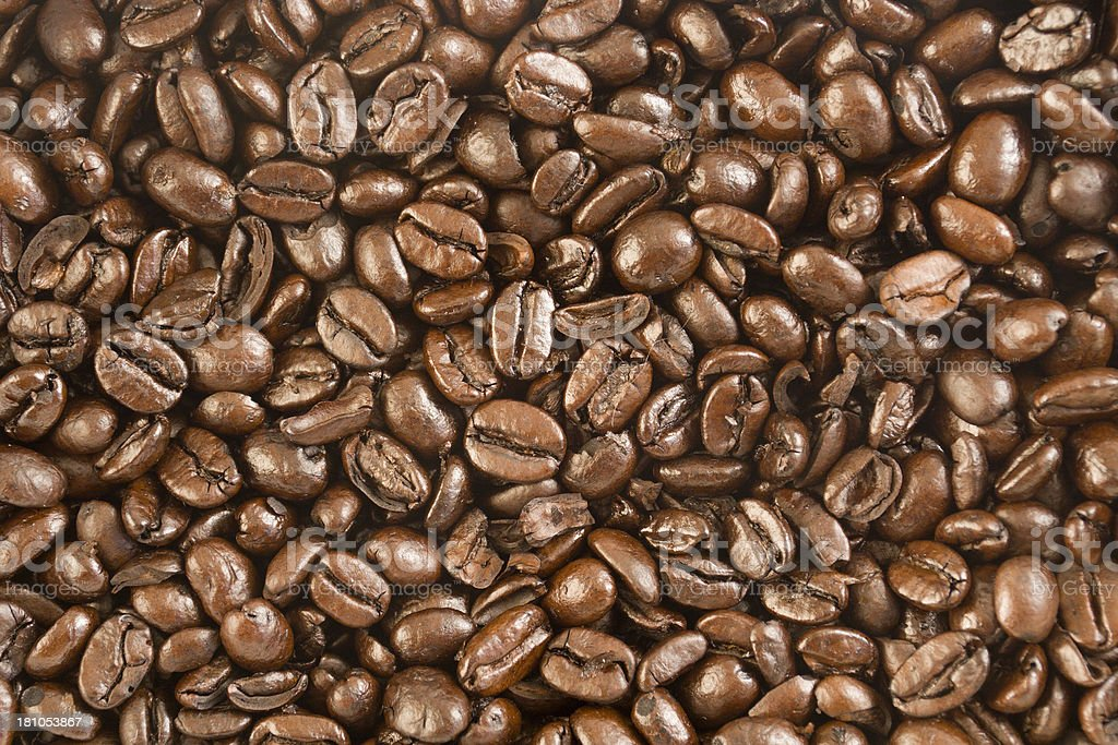 Coffee Bean Texture royalty-free stock photo