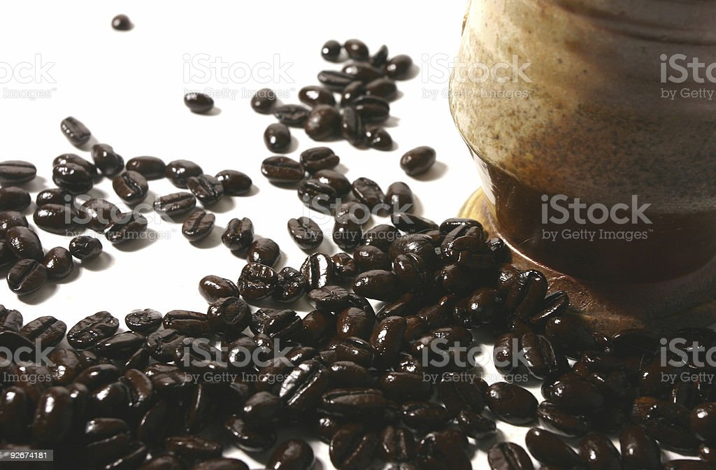 Coffee beans 3 royalty-free stock photo