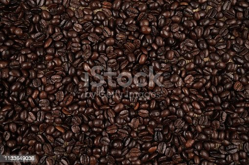 istock Coffee beans background 1133649036
