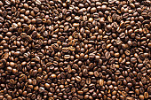 coffee, beans, background