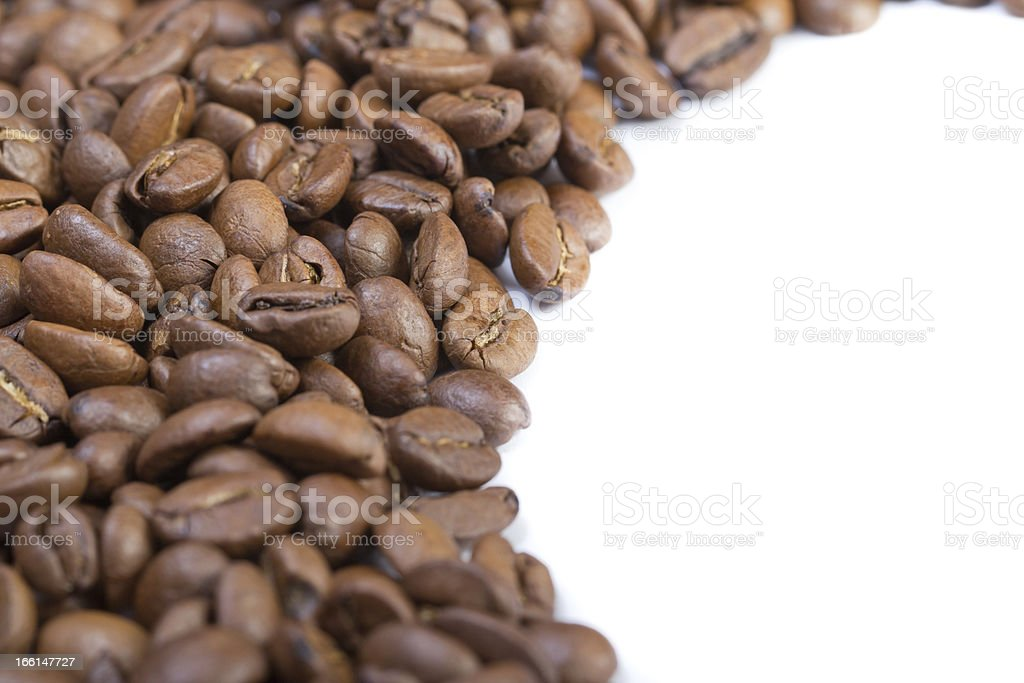 Coffee beans background. royalty-free stock photo