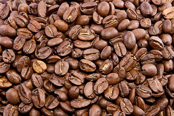 Kaffeebohnen Hintergrund – Foto