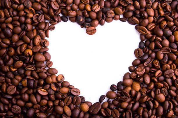 kaffeebohnen hintergrund - scyther5 stock-fotos und bilder