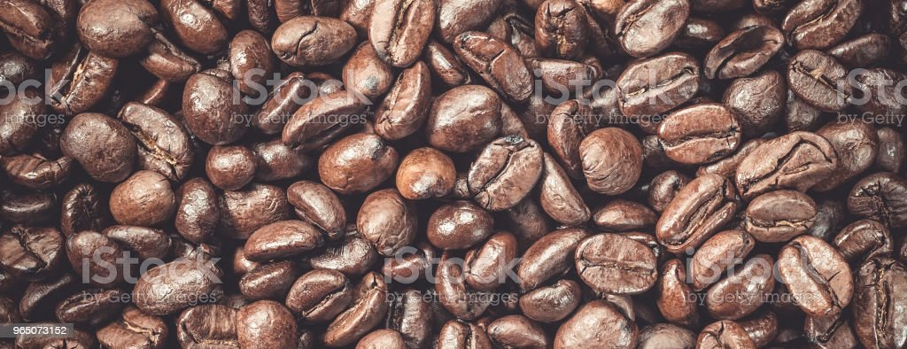Coffee beans fresh roasted food background royalty-free stock photo