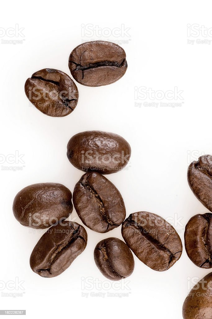 Coffee Beans Isolated stock photo