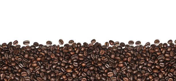 Coffee Beans Coffee Beans isolated on white. Find more in roasted coffee bean stock pictures, royalty-free photos & images
