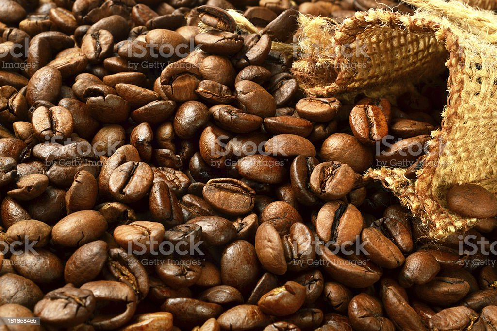 Coffee Beans (Click for more) royalty-free stock photo