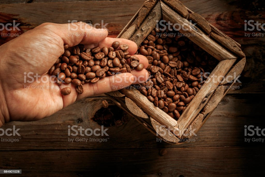 coffee beans Lizenzfreies stock-foto