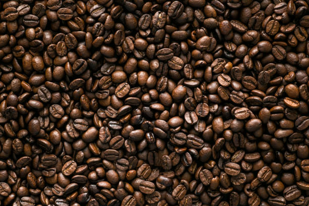 Coffee Beans Coffee Beans, background roasted coffee bean stock pictures, royalty-free photos & images