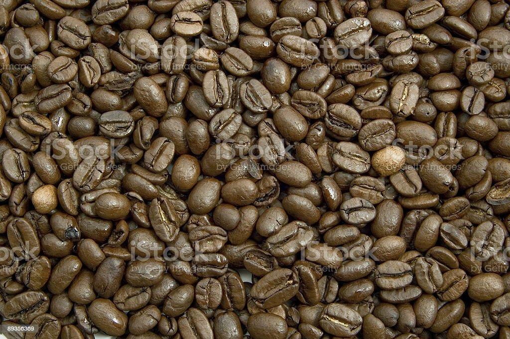 Chicchi di caffè foto stock royalty-free
