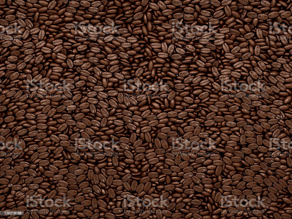 Coffee beans texture or background royalty-free stock photo