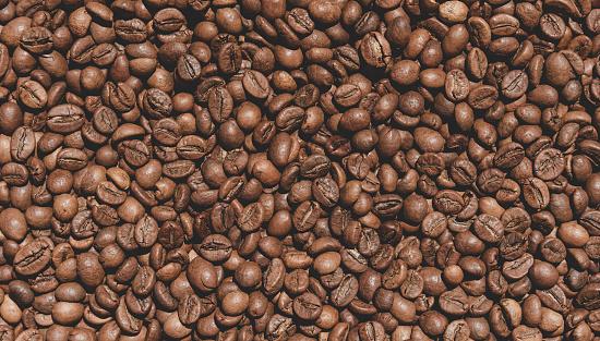 Kaffebönor Textur-foton och fler bilder på Arabicakaffe - Gröda