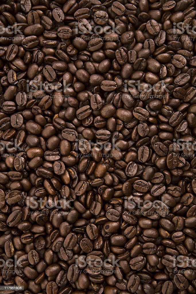 Coffee Beans XXL - Vertical royalty-free stock photo