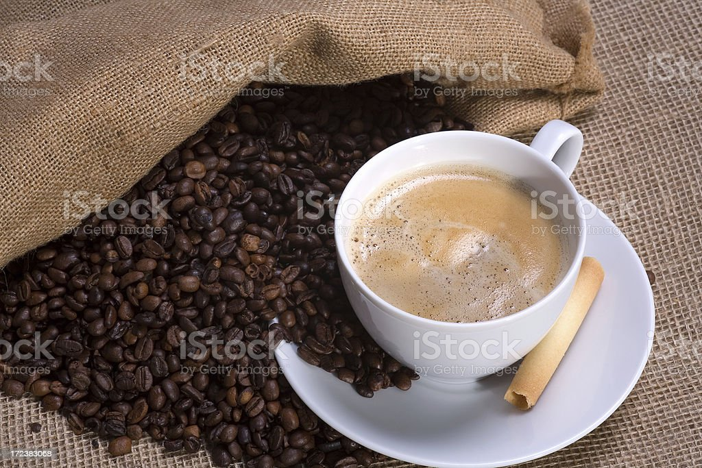 Coffee break 2 royalty-free stock photo