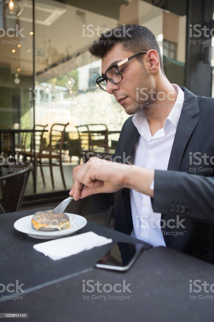 Coffee Break. Business life. stock photo