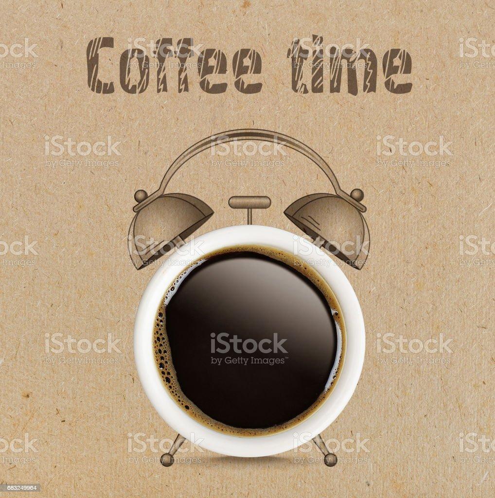 Kaffeepause-Konzept. Lizenzfreies stock-foto