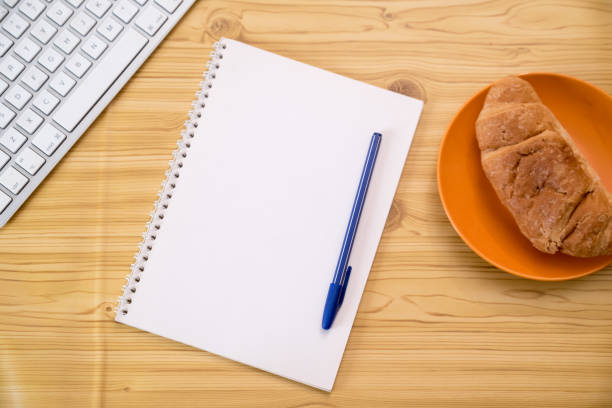 Coffee break for new ideas stock photo