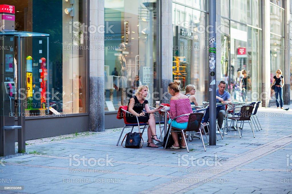 Coffee break in Iserlohn royalty-free stock photo