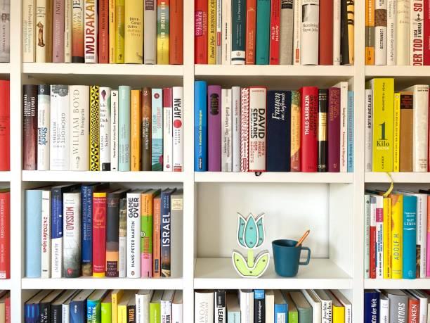 Kaffeepause in der Bibliothek – Foto