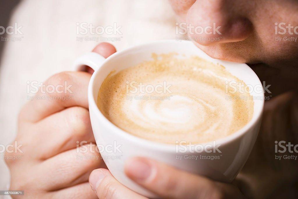 Przerwa na kawę zbiór zdjęć royalty-free