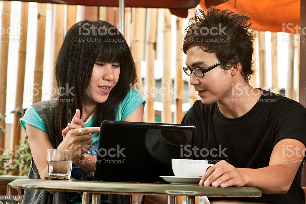 Coffee Break Together royalty-free stock photo