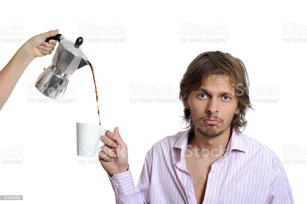 Coffee business concept royalty-free stock photo
