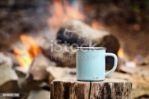 istock Coffee by a Campfire 693665766