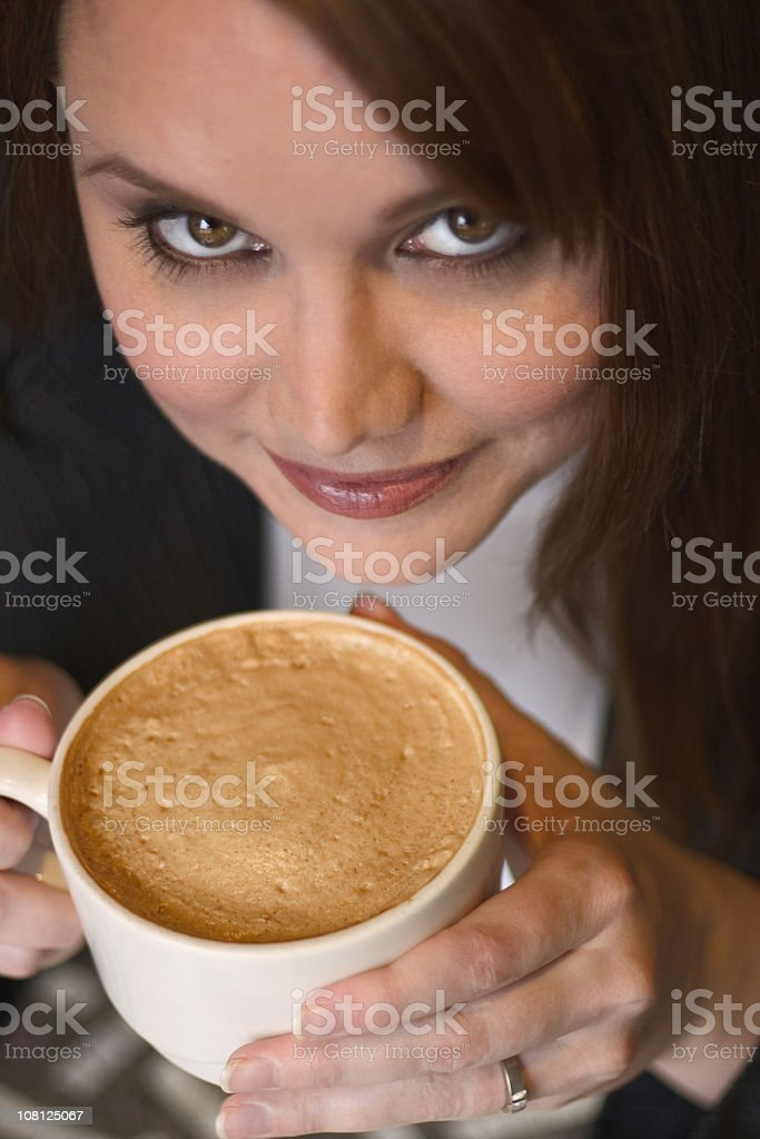 Coffee Chick royalty-free stock photo