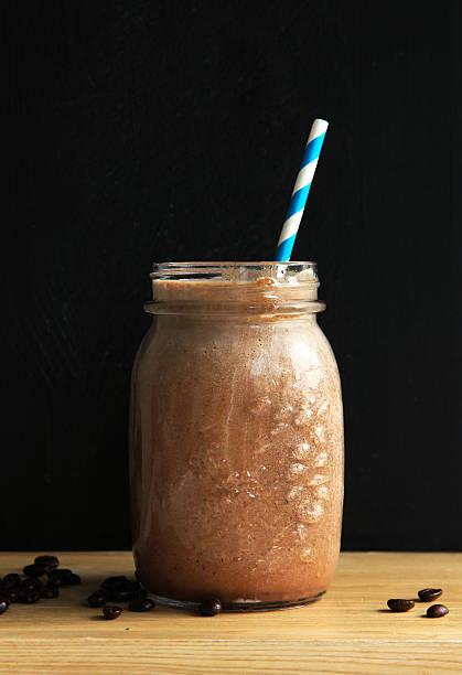 Café batido de chocolate - foto de stock