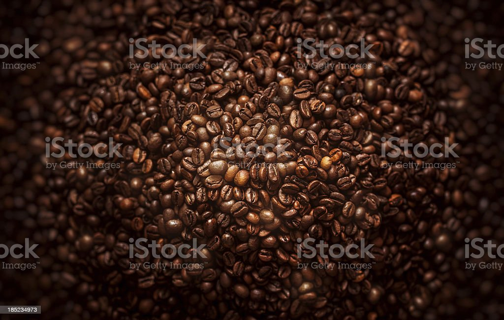 Coffee close up. stock photo