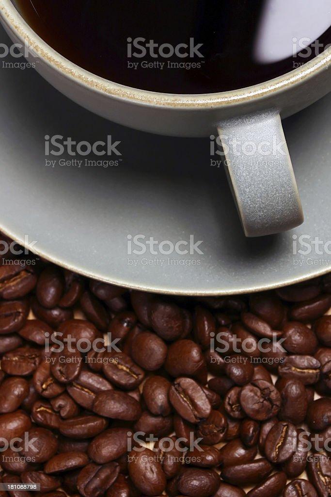 Coffee Closeup royalty-free stock photo