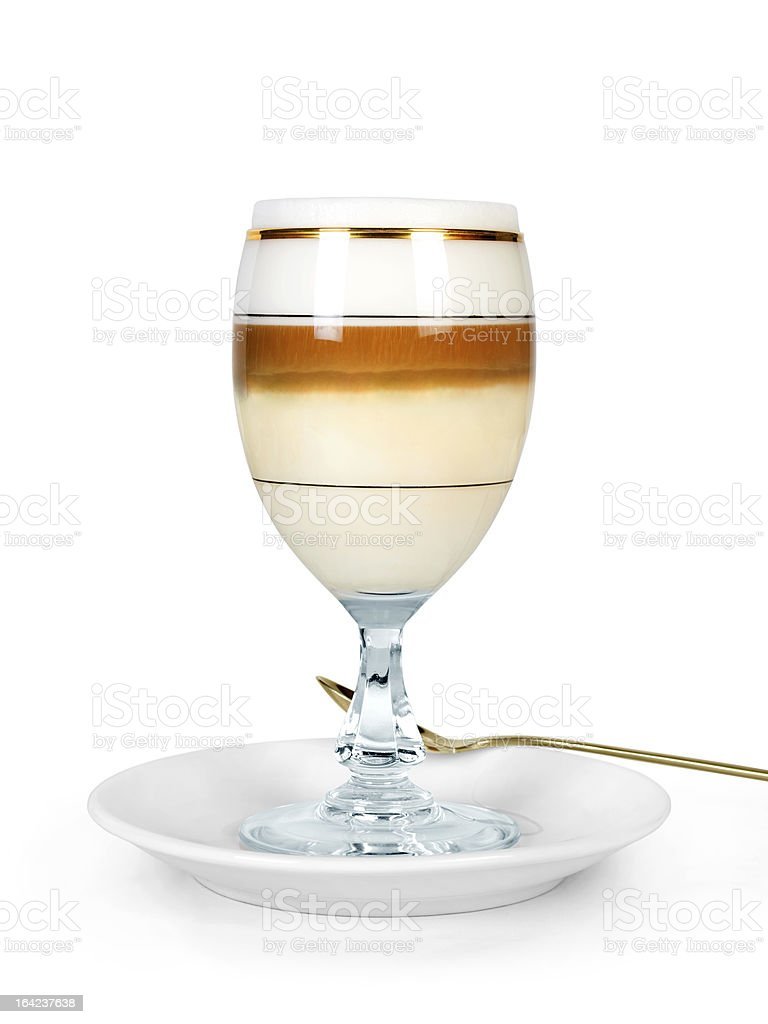 coffee cocktail royalty-free stock photo